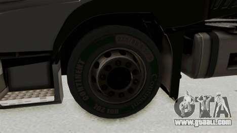 Volvo FM Euro 6 6x4 v1.0 for GTA San Andreas back view