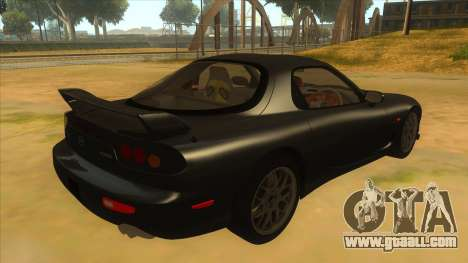 Mazda RX7 S Spirit R for GTA San Andreas right view