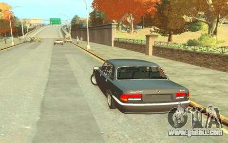 GAZ 3110 for GTA 4 back left view