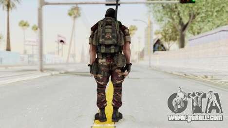 Battery Online Russian Soldier 3 v2 for GTA San Andreas third screenshot