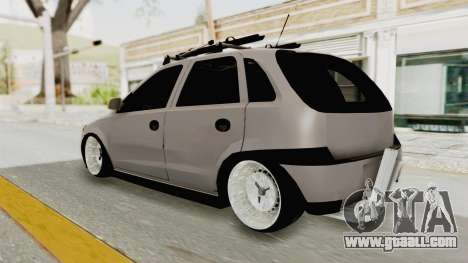 Opel Corsa for GTA San Andreas left view