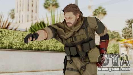 MGSV The Phantom Pain Venom Snake Sc No Patch v1 for GTA San Andreas