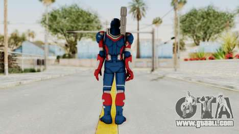 Marvel Heroes - Iron Patriot for GTA San Andreas third screenshot