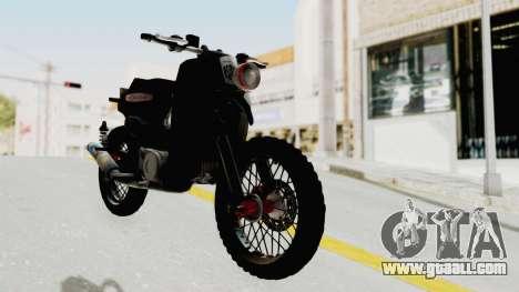 Honda Super Cub Modif Moge for GTA San Andreas