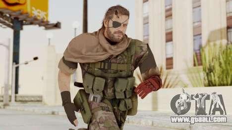 MGSV The Phantom Pain Venom Snake Scarf v6 for GTA San Andreas
