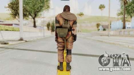 MGSV The Phantom Pain Venom Snake Sc No Patch v5 for GTA San Andreas third screenshot