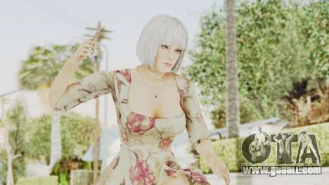 Dead Or Alive 5 LR - Christie Casual New Hair for GTA San Andreas