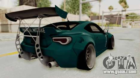 Scion FRS Rocket Bunny Killagram v1.0 for GTA San Andreas left view
