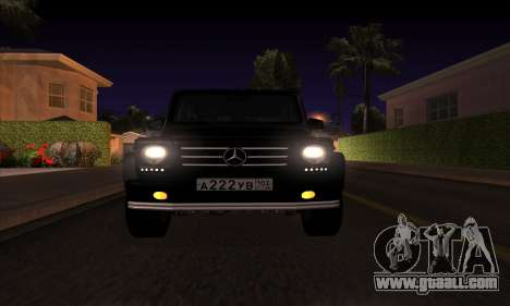Mercedes G55 Kompressor for GTA San Andreas right view
