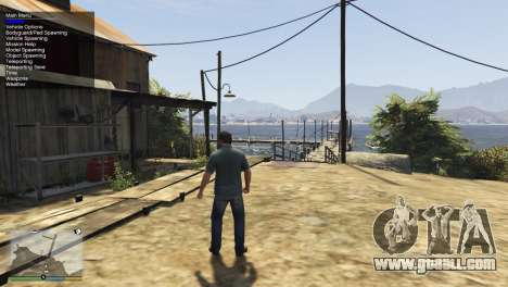 Simple Trainer v3.6 for GTA 5