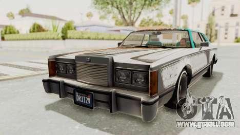 GTA 5 Dundreary Virgo Classic Custom v2 IVF for GTA San Andreas bottom view