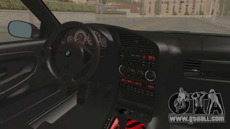BMW M3 E36 Beast for GTA San Andreas inner view