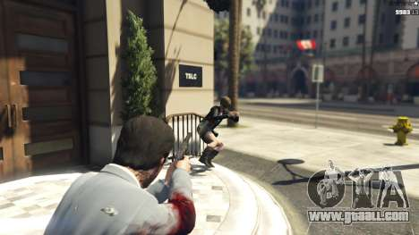 GTA 5 Realistic Bullet Damage third screenshot