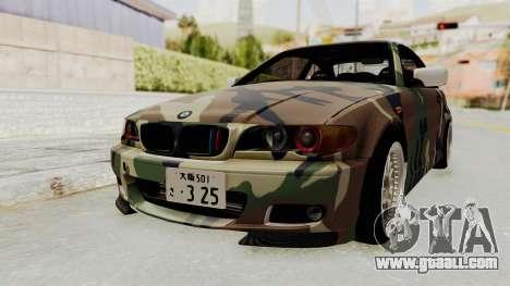 BMW 3 Series E46 for GTA San Andreas