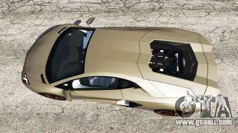 GTA 5 Lamborghini Aventador LP700-4 2012 v1.2 back view