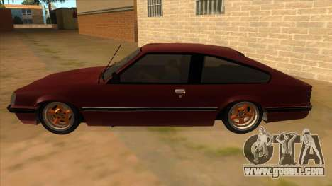 Opel Monza A2 for GTA San Andreas left view
