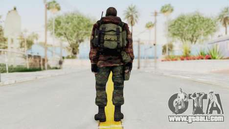 Battery Online Russian Soldier 9 v2 for GTA San Andreas third screenshot