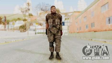 MGSV The Phantom Pain Venom Snake No Eyepatch v9 for GTA San Andreas second screenshot
