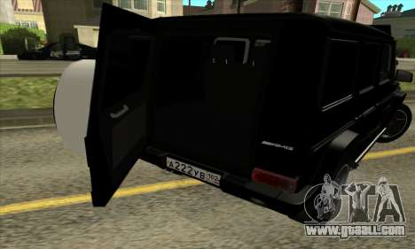 Mercedes G55 Kompressor for GTA San Andreas bottom view