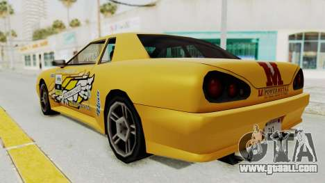 Dewbauchee Elegy for GTA San Andreas left view