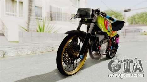 Yamaha RX King 200 CC Killing Ninja for GTA San Andreas