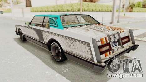 GTA 5 Dundreary Virgo Classic Custom v3 for GTA San Andreas engine