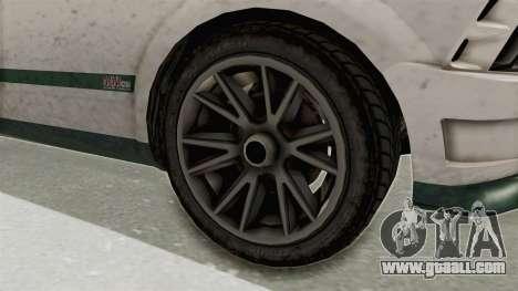 GTA 5 Vapid Dominator v2 SA Style for GTA San Andreas back view