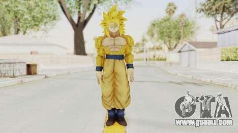 Dragon Ball Xenoverse Goku SSJ4 Golden for GTA San Andreas second screenshot