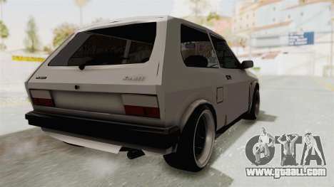 Zastava Yugo Koral 55 for GTA San Andreas left view