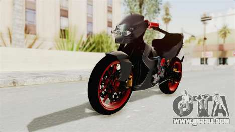 Satria FU 150 Modif FU 250 Superbike for GTA San Andreas