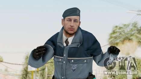 Bourne Conspirancy Zurich Police v1 for GTA San Andreas