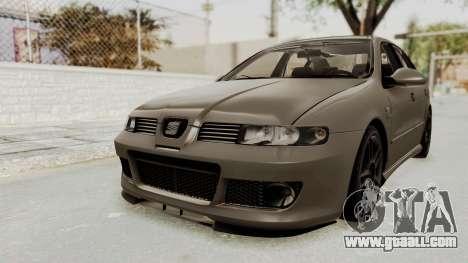 Seat Leon CupraR 2003 for GTA San Andreas