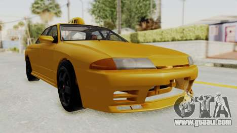 Nissan Skyline R32 4 Door Taxi for GTA San Andreas right view