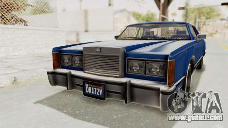 GTA 5 Dundreary Virgo Classic Custom v1 IVF for GTA San Andreas