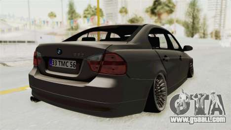 BMW 330i E92 Camber for GTA San Andreas left view