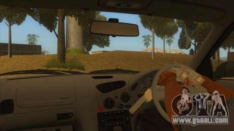 Mazda RX7 S Spirit R for GTA San Andreas inner view