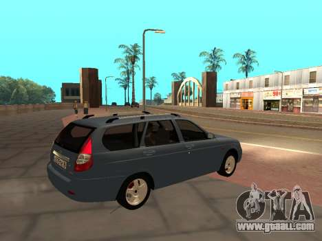 Lada Priora IVF for GTA San Andreas left view
