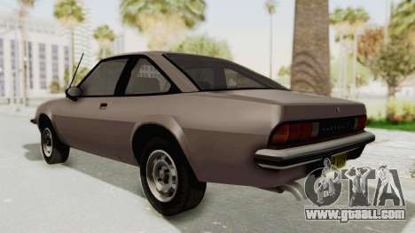 Vauxhall Cavalier MK1 Coupe for GTA San Andreas back left view