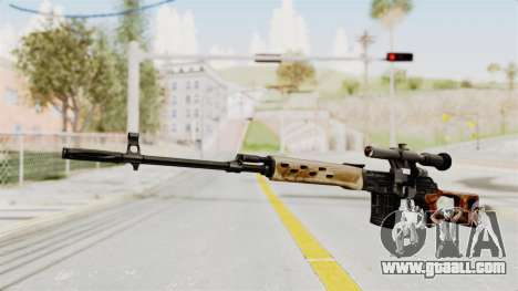Sniper with New Realistic Crosshair for GTA San Andreas