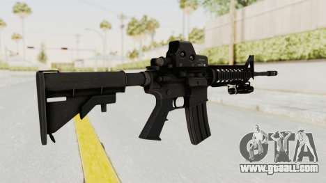 AR-15 with Eotech 552 and Flashlight for GTA San Andreas second screenshot