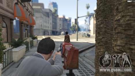 GTA 5 Realistic Bullet Damage fourth screenshot
