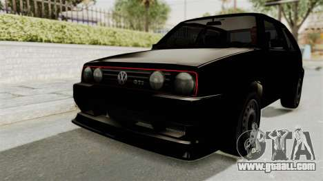 Volkswagen Golf 2 Tuning for GTA San Andreas