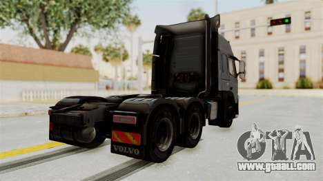 Volvo FM Euro 6 6x4 v1.0 for GTA San Andreas left view