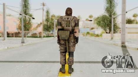MGSV The Phantom Pain Venom Snake Wetwork for GTA San Andreas third screenshot