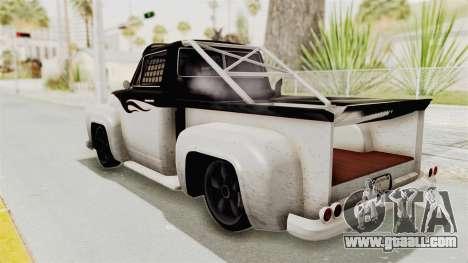 GTA 5 Slamvan Race PJ1 for GTA San Andreas right view