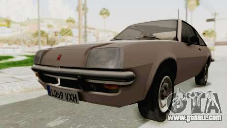 Vauxhall Cavalier MK1 Coupe for GTA San Andreas right view