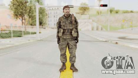 COD BO SOG Reznov v1 for GTA San Andreas second screenshot