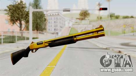 Remington 870 Gold for GTA San Andreas second screenshot