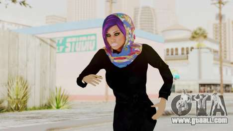 Iranian Girl Skin v2 for GTA San Andreas