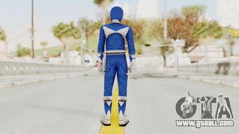 Mighty Morphin Power Rangers - Blue for GTA San Andreas third screenshot